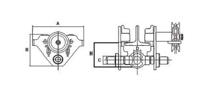 Troles Mecânicos Modelo GCL